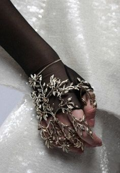 Hand accessory! Chanel.  Not for me but I wish I could pull this off