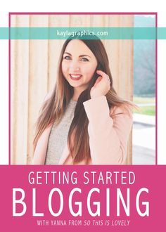 Getting Started Blogging with Yanna from So This Is Lovely | tips advice fashion mommy lifestyle blogger First Blog Post, Hurdles, Business Advice, Figure It Out, Inspire Others, Blogging For Beginners, Photography Business, Social Media Tips, Photography Tutorials