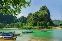 You can hike, bike, paddle or relax in vietnam& phong nha-ke bang national Vietnam Tours, Vietnam Travel, Asia Travel, Vietnam Vacation, Phong Nha Ke Bang National Park, Cool Places To Visit, Places To Go, Dong Hoi, Ho Chi Minh Trail