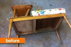 Before & After: Gossip Bench Breakdown, I literally have to have one of these. For reasons.
