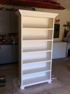 - bookshelf makeover