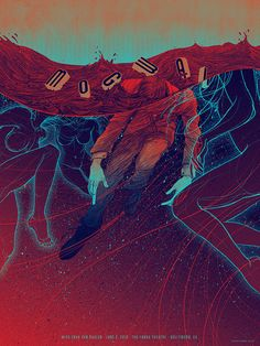 Mogwai - 2012 Henry Fonda Theatre by Kevin Tong Illustration, via Flickr