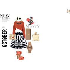 Nessa by nessa-sfc on Polyvore featuring polyvore, fashion, style, Crea Concept, Moschino, JY Shoes, Yves Saint Laurent, Irene Neuwirth, Isabel Marant, George & Laurel, Topshop, Bling Jewelry, Hermès, Chanel and modern