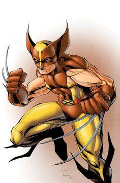 WOLVERINE XMEN 002 Illustrated Comic Book Art Print by aposcar