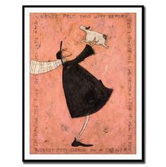 Sam Toft - Having The Time of My Life, Framed Print, 50x40cm, $75 !!
