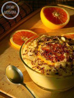 Pomarańczowy krem jaglany