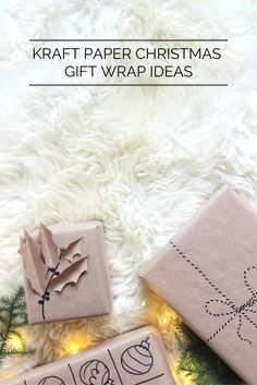 5 Kraft paper Christmas gift wrapping ideas for wrap emergencies