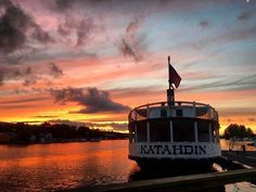 Katahdin steamship on Moosehead Lake, Maine, photo credit Tiana Breau Greenville Maine, Maine New England, Lakeside Cabin, Cabin Rentals, Tiana, Photo Credit, Places To See, Vacations, Around The Worlds