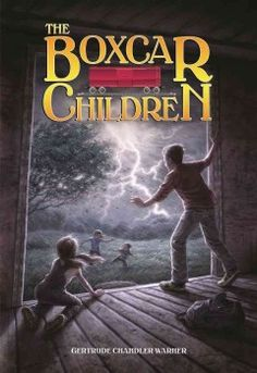 The boxcar children by Gertrude Warner  Click the cover image to check out or request the children's books kindle.