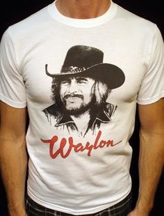 Waylon Jennings t-shirt vintage style concert tour jersey 02w Waylon  Jennings T Shirt 2ffaf66298d9