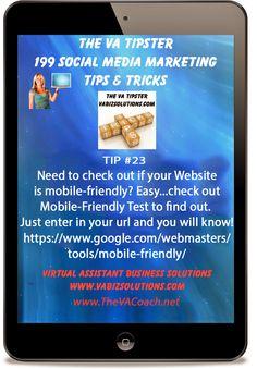 The VA Tipster - 199 Social Medial Marketing Tips and Tricks, Tip #23