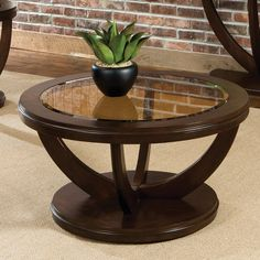 Have to have it. Standard Furniture La Jolla Round Cocktail Table - $220.5 @hayneedle.com