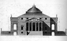 32 best andrea palladio images on pinterest in 2018 andrea palladio villa rotunda elevation drawing palladio being widely considered to be the most fandeluxe Gallery