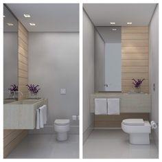 Projeto apartamento São Bento - Lavabo #lavabo #deca #apartamento #apartamentodecorado #apartamentocobertura #bathroom #toilet #home #homedecor #decor #interiordesign #interiores #decoracaobelohorizonte