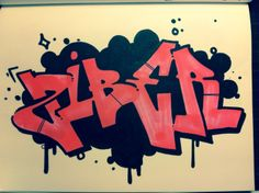 ziber graffiti sketch