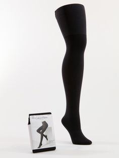 These shaper tights by Calvin Klein are designed to help smooth and shape natural curves to create a very flattering outline. Calvin Klein, Only Fashion, High Socks, Tights, Natural Curves, Hair Styles, Fit, Women, Navy Tights