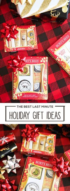 If you have an unexpected white elephant or secret santa party coming up, no need to panic. With these Holiday Gift Ideas, you can still find a last minute present they'll love! With natural products in simply delightful scents, Burt's Bees range of makeup, skincare, and high quality toiletries make the perfect gift set inspiration. Simply head to Target to pick them up for everyone on your holiday shopping list.
