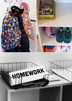 School Prep Zone -  Tips for creating independence by letslassothemoon #Kids #School