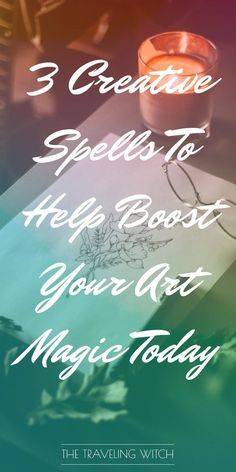 3 Creative Spells To Help Boost Your Art Magic Today // Witchcraft // The Traveling Witch Moon Spells, Wiccan Spells, Magic Spells, Easy Spells, Wiccan Magic, What Is Spirituality, Witchcraft For Beginners, Wiccan Crafts, Eclectic Witch