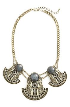 Sole Society Statement Collar Necklace available at #Nordstrom