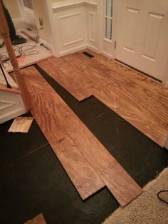 Inexpensive wood floor that looks like a million dollars do it wide plank distressed pine flooring cheap updated 2 5 17 cheap wood flooringplywood plank flooringdiy solutioingenieria Choice Image