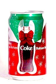Coca-Cola 2006 Christmas Can Philippines