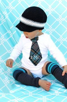 Baby Boy Birthday Gift Tie Onesie  Any by ChicCoutureBoutique, $23.50