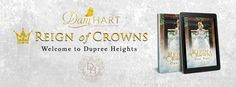 Dani Hart | Reign of Crowns | Release Blitz   Title: Reign of Crowns Series: Dupree Heights #1 Author: Dani Hart Genre: Young Adult Dystopian Release Date: April 6 2017  One hundred years ago cyber technology evolved rapidly. Human interaction diminished as the need to leave home became obsolete. Doors closed and cities shut down causing a tsunami of destruction. Humans were replaced with computers the homeless rate increased exponentially and families starved in the abandoned streets. The…