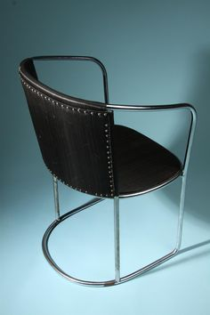 Chair, designed by Axel Einar Hjorth for Tösse bakery, Stockholm. 1930.