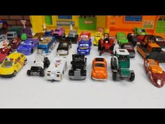 Lighting Mcqueen, Toy Truck, Dinoco King, Cars Toys and School Bus Compilation - YouTube Toddler Videos, Kids Videos, Toy Trucks, Mcqueen, King, Cars, Lighting, School, Youtube