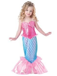 Mermaid Toddler Costume