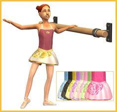 Mod The Sims - Little Ballerina-New MESH + 9 Recolors