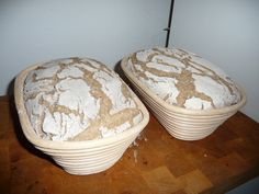 Strong sourdough bread made from wholegrain rye flour based on an ancient Hessian . - Strong sourdough bread made from wholegrain rye flour according to an ancient Hessian original reci - No Knead Bread, Sourdough Bread, Bread Bun, Bread Rolls, Bread Recipes, Vegan Recipes, Pain Au Levain, Flat Pan, Rye Flour