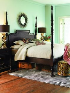 Guest Bedroom? I'd change the wall color, though.