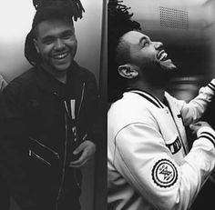 The Weeknd Oh God look at that smile, I'm dying literally