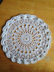 This is my first attempt at writing a crochet pattern.....I have supplied the pattern to you free of charge for your enjoyment. This is a...