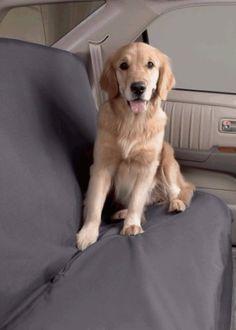 "Dog Car Seat Cover SUV Size Lrg (60""W) Color Slate - http://www.thepuppy.org/dog-car-seat-cover-suv-size-lrg-60w-color-slate-2/"
