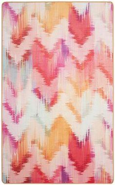 Hashtag Home Swae Brentwood Ikat Pink Area Rug Hashtag Home Textile Pattern Design, Ikat Pattern, Surface Pattern Design, Textile Patterns, Print Patterns, Floral Patterns, Fabric Design, Textile Prints, Digital Print Textiles