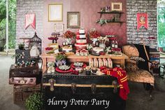 Harry Potter Hogwarts Birthday Party (kara's party ideas)