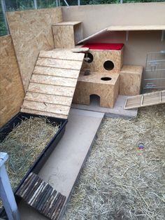 Almost finish with the new rabbitplace.