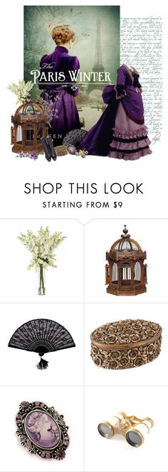 """""""Victorian style"""" by dgia ❤ liked on Polyvore featuring Nearly Natural, Retrò and Lemaire"""