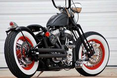 Old Skool Bobber with Apes by BRASS BALLS BOBBERS