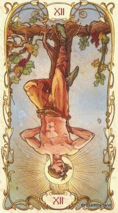 The Hanged Man Card. – Tarot, Life and You