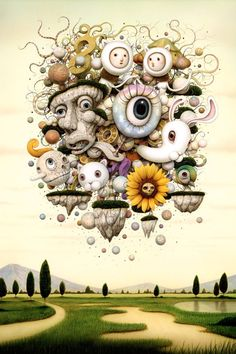 """Preview: Naoto Hattori – """"The Magic Caravan"""" @ Dorothy Circus Gallery « Arrested Motion"""