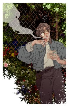the wind catches my troubles on this warm, hazy day, and my worries melt away like the moisture that permeates the air Digital: Clip Studio Paint Pretty Art, Cute Art, Aesthetic Art, Aesthetic Anime, Manga Art, Anime Art, Art Sketches, Art Drawings, Arte Fashion