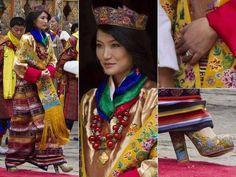 Princesse Sonam Jetsun Wangchuk du Bouthan, pays qui partage une culture très similaire au Tibet, et la même religion qu'au Tibet, mais aussi, qui soutient le Tibet, et qui a reçu beaucoup de réfugiés tibétains.