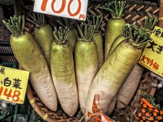 Daikon radish in grocery store, Osaka, Japan Japanese Diet, Superfoods, Osaka Japan, Traditional, Grocery Store, Mindful, Diaries, Health, Life