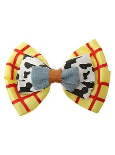 Disney Toy Story Woody Cosplay Bow from Hot Topic. Saved to Bows. Toy Story Birthday, Toy Story Party, Disney Diy, Disney Crafts, Disney Pixar, Toy Story Crafts, Disney Hair Bows, Ear Headbands, Mickey Ears