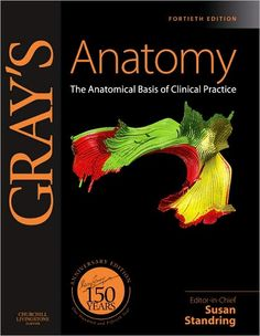 Gray's Anatomy: The Anatomical Basis of Clinical Practice, Expert Consult - Online and Print, a book by Susan Standring PhD DSc Anatomy Coloring Book, Coloring Books, Greys Anatomy Book, Grays Anatomy, Anatomy Bones, Medical Textbooks, Brain Book, Medical Anatomy, Vintage Medical