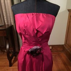 Selling this Hot pink maid of honor dress. on Poshmark! My username is: nikkielis. #shopmycloset #poshmark #fashion #shopping #style #forsale #BR #Dresses & Skirts